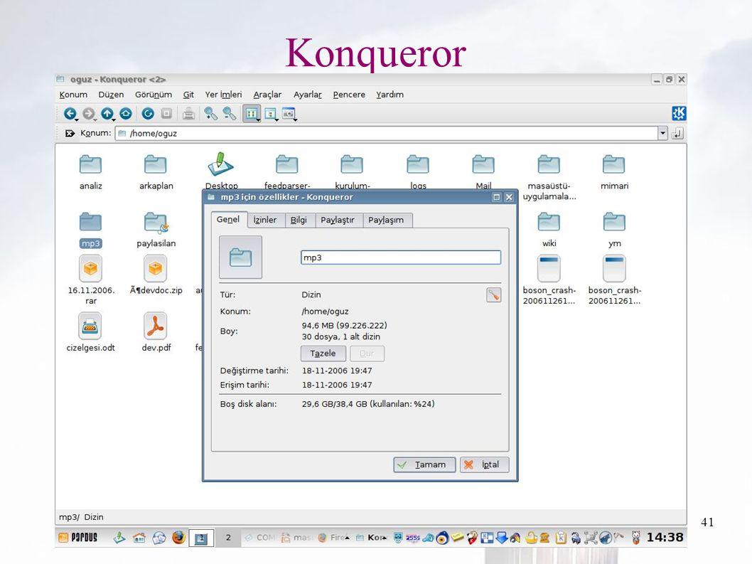 oguzy ~ comu.edu.tr41 Konqueror