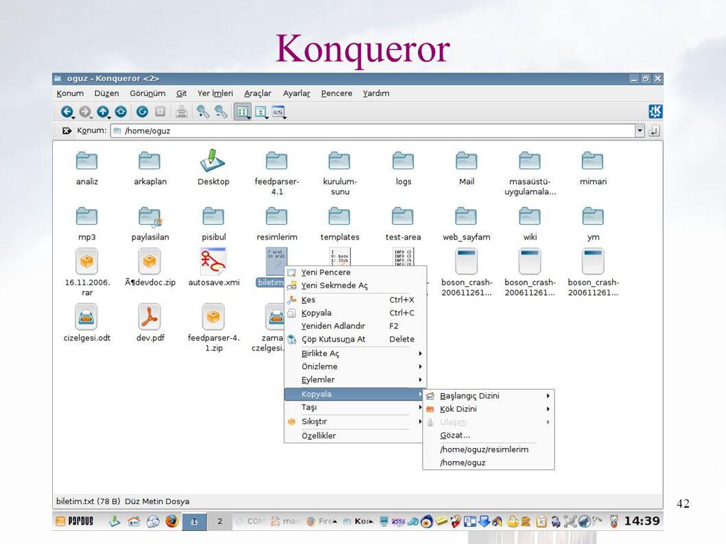 oguzy ~ comu.edu.tr42 Konqueror