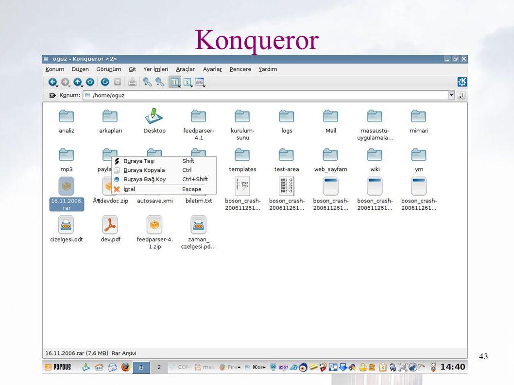 oguzy ~ comu.edu.tr43 Konqueror