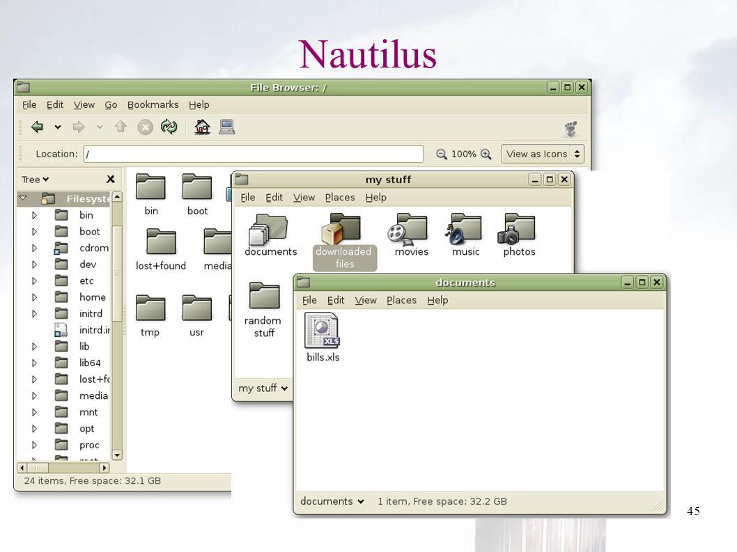 oguzy ~ comu.edu.tr45 Nautilus