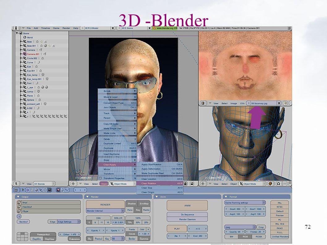 oguzy ~ comu.edu.tr72 3D -Blender