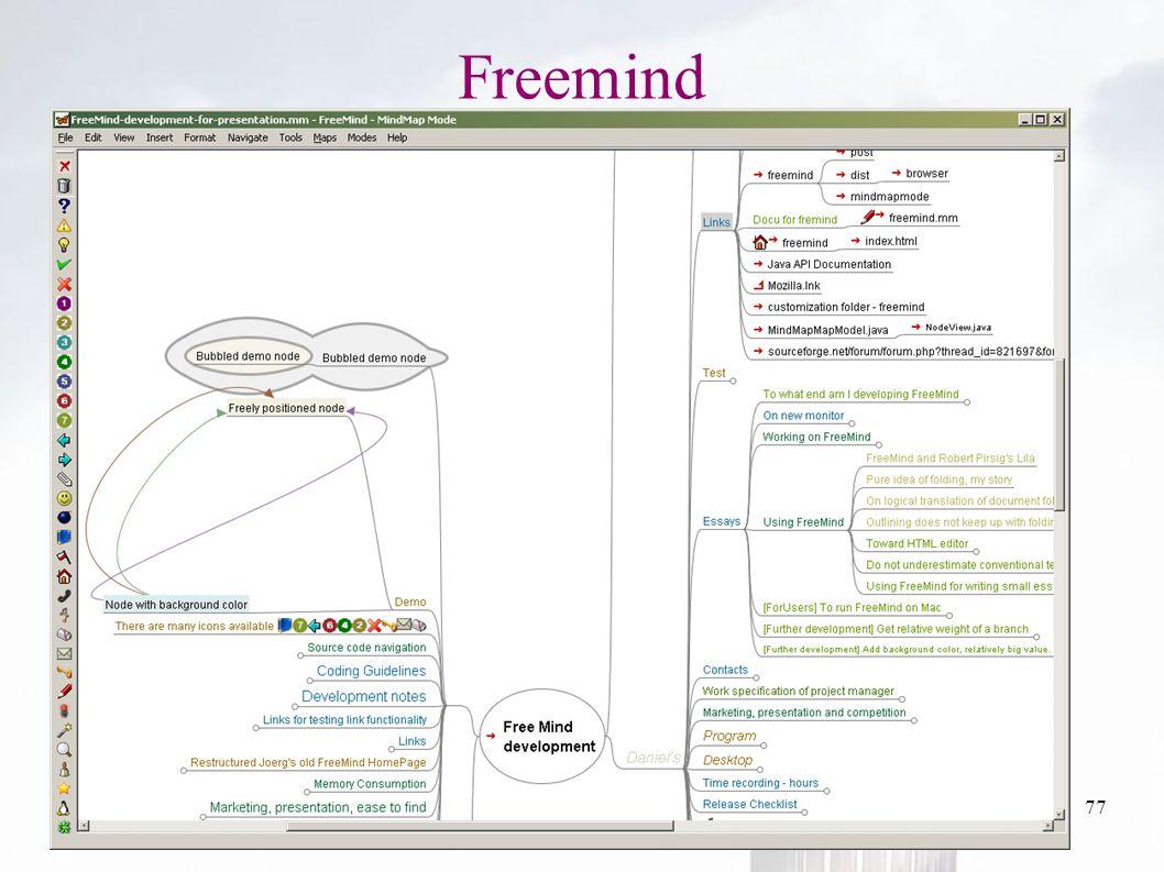 oguzy ~ comu.edu.tr77 Freemind