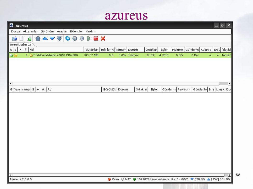 oguzy ~ comu.edu.tr86 azureus