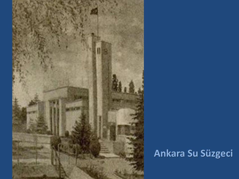 ANI KAPSÜLÜ 10 Haziran 1935 günü Su Süzgeci'nin temeli atılırken, zamanın yöneticileri, büyük bir heyecanla bir anı kapsülü hazırlamışlardı.