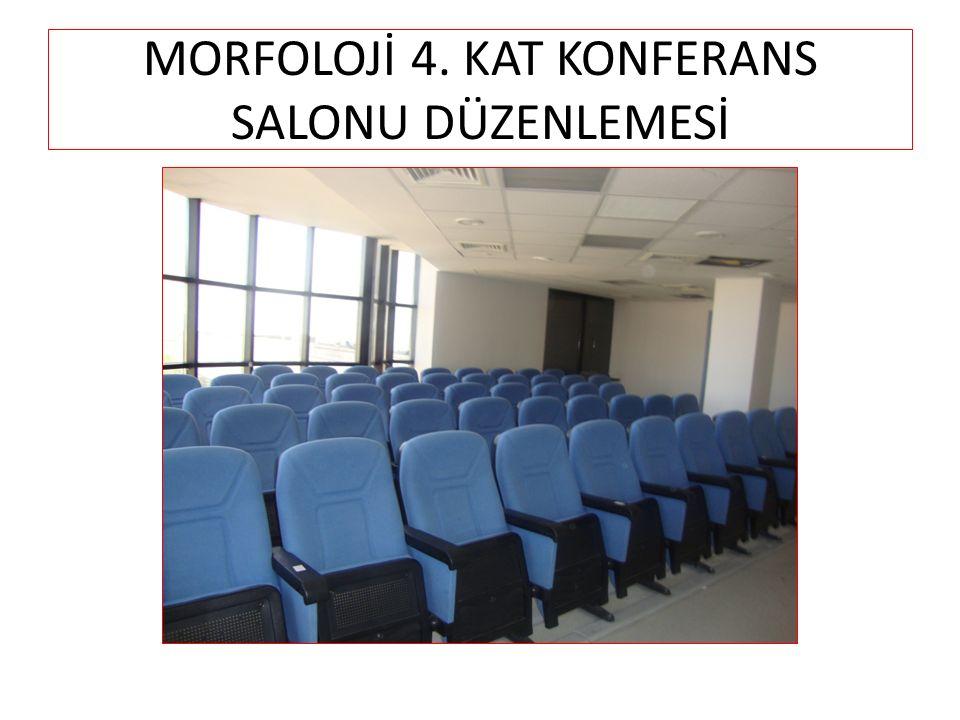 MORFOLOJİ 4. KAT KONFERANS SALONU DÜZENLEMESİ