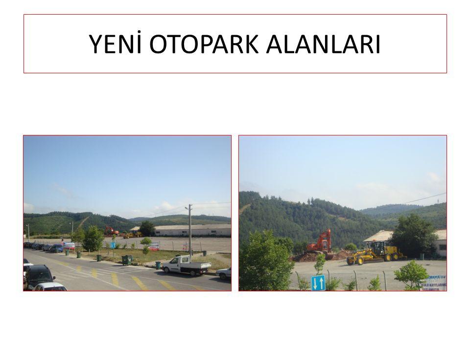 YENİ OTOPARK ALANLARI
