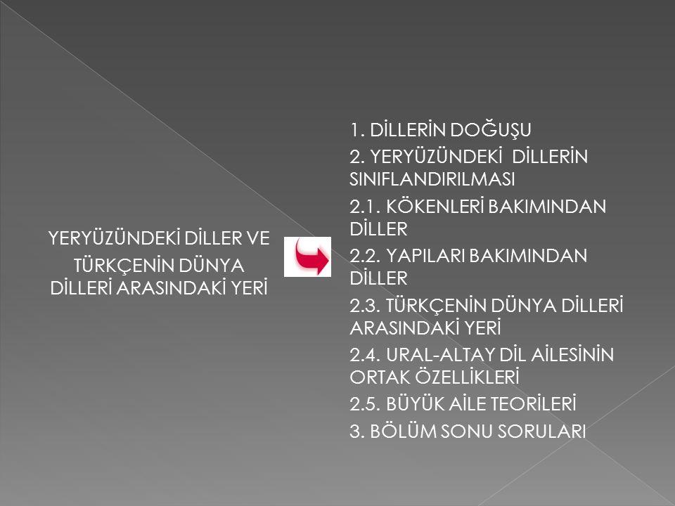 Schott bu tespitlerin Altay dilleri içinde yer alması gerektiğini, Türkçenin ana Türkçeden kopan bir kolu olduğunu ortaya koymuştur.