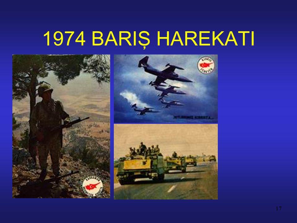 17 1974 BARIŞ HAREKATI