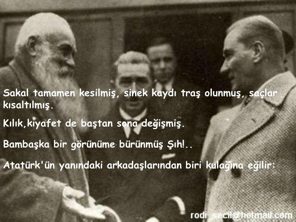 Konuşmadan sonra, Atatürk kağıdı kalemi eline alır ve yazdığının Amasya Valiliği ne tebliğ edilmesini ister.