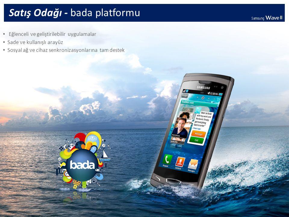 Samsung Apps mağazası üzerinden birçok uygulamaya kolay ulaşım ve hızlı uygulama indirme Sales Point - Samsung Apps