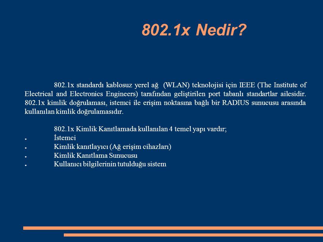 802.1x Nedir.