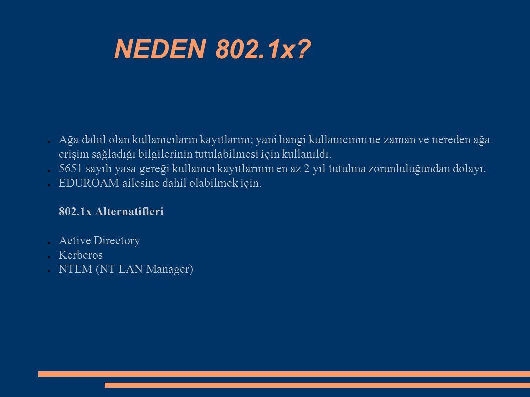 NEDEN 802.1x.