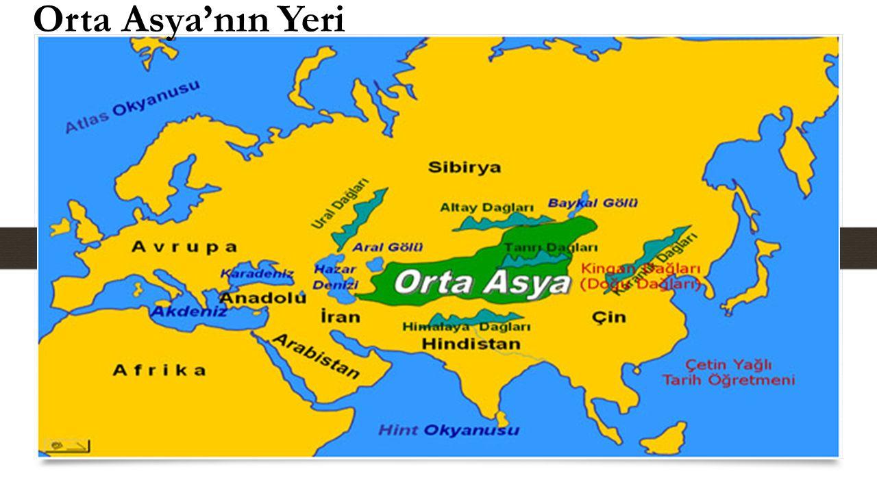 Orta Asya'nın Yeri