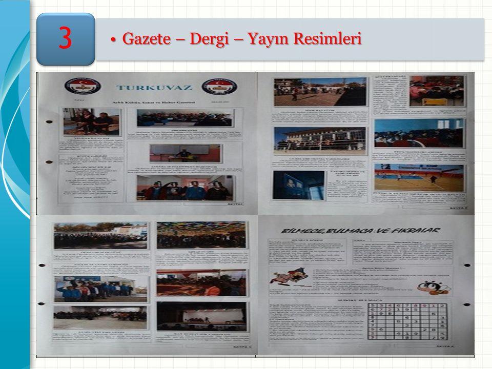 Gazete – Dergi – Yayın ResimleriGazete – Dergi – Yayın Resimleri 3 Resim -1- Resim -2- Resim -3- Resim -4-