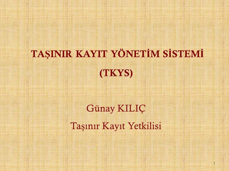 22 1.2. TAŞINIR TESLİM BELGESİ ARAMA & İADE ETME,