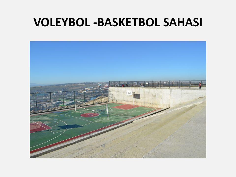 VOLEYBOL -BASKETBOL SAHASI