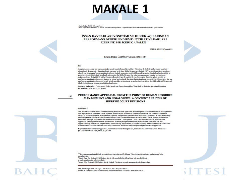 MAKALE 1