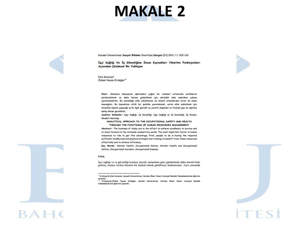 MAKALE 2