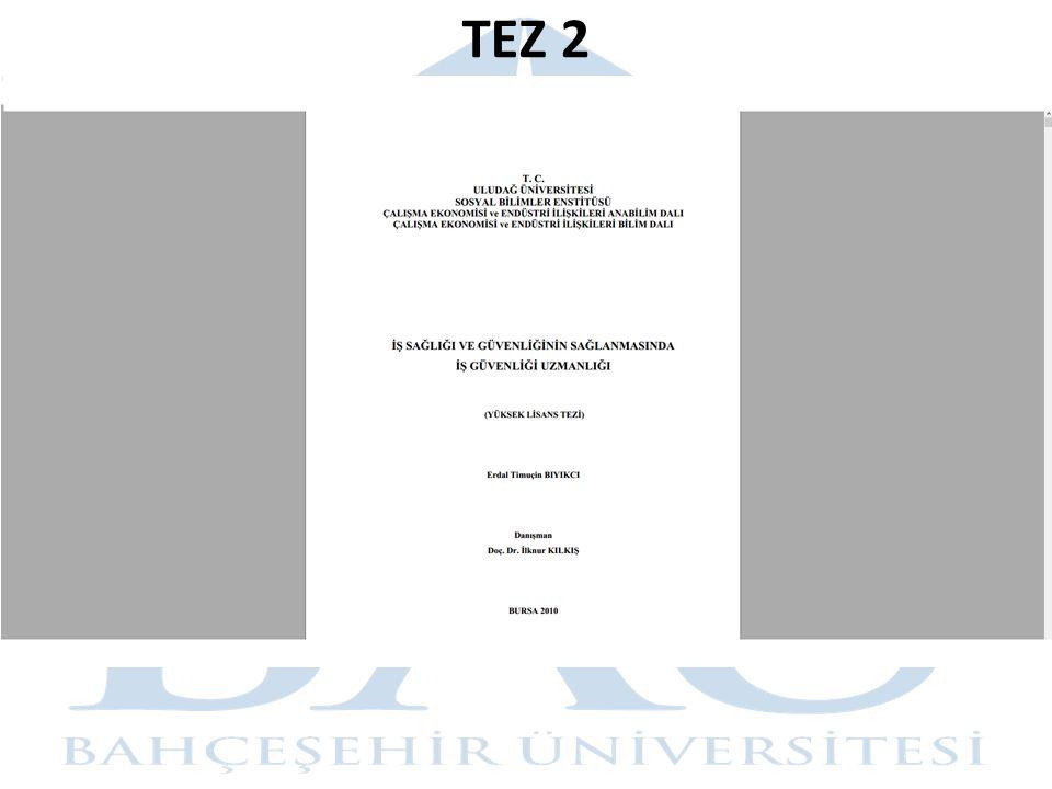 TEZ 2