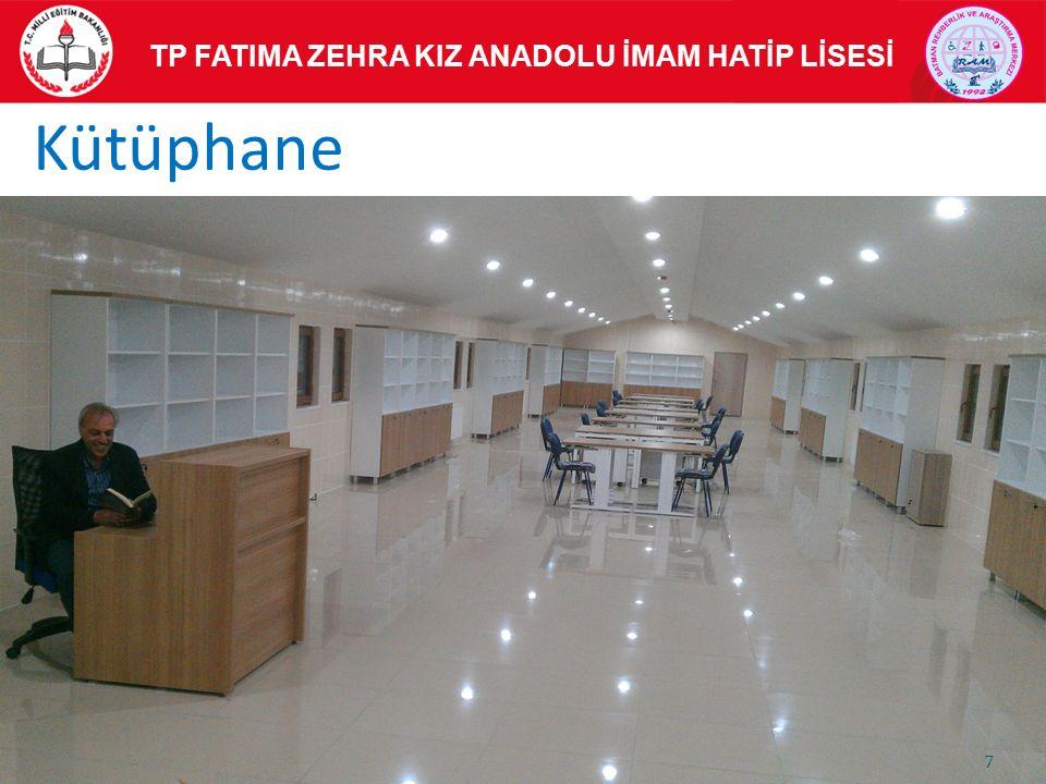 Kütüphane TP FATIMA ZEHRA KIZ ANADOLU İMAM HATİP LİSESİ 7
