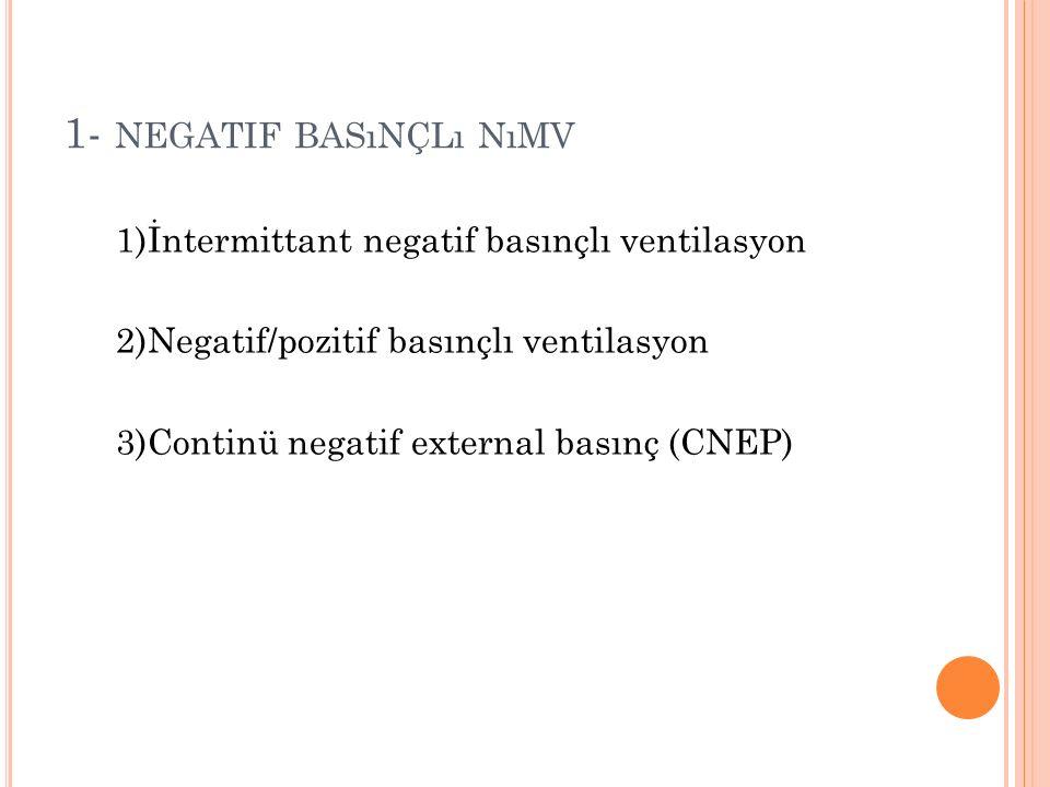 N ıMV ENDIKASYONLARı -1