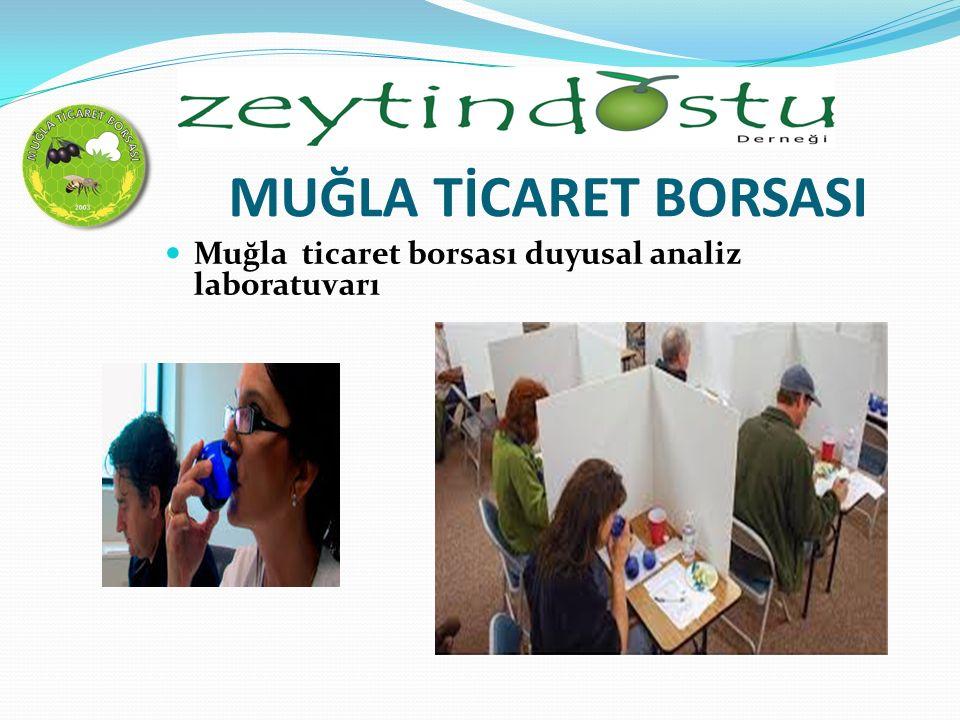 MUĞLA TİCARET BORSASI Muğla ticaret borsası duyusal analiz laboratuvarı
