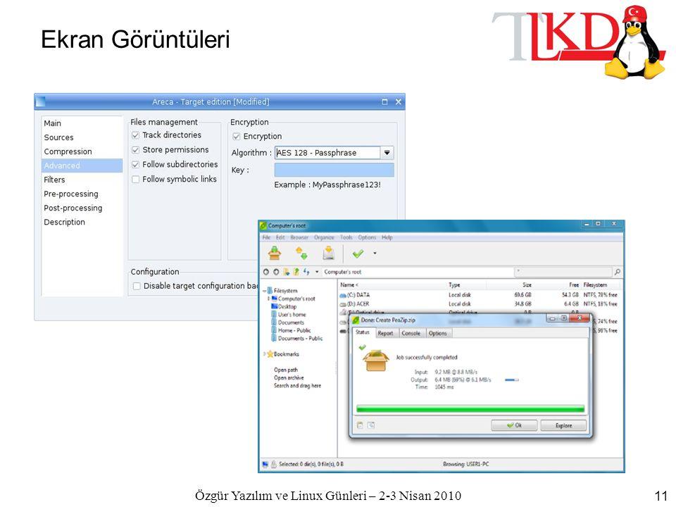Özgür Yazılım ve Linux Günleri – 2-3 Nisan 2010 11 Ekran Görüntüleri