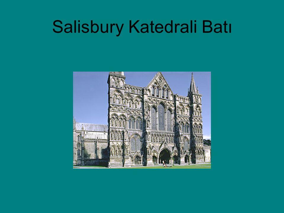 Salisbury Katedrali Batı