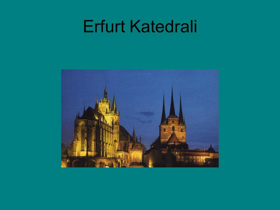 Erfurt Katedrali