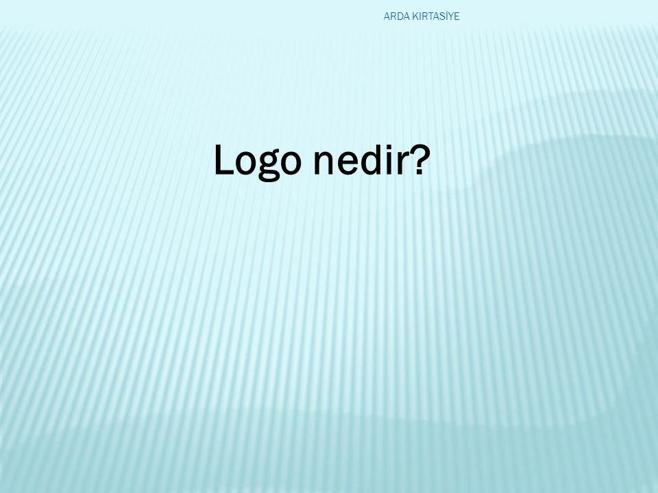 Logo nedir? ARDA KIRTASİYE