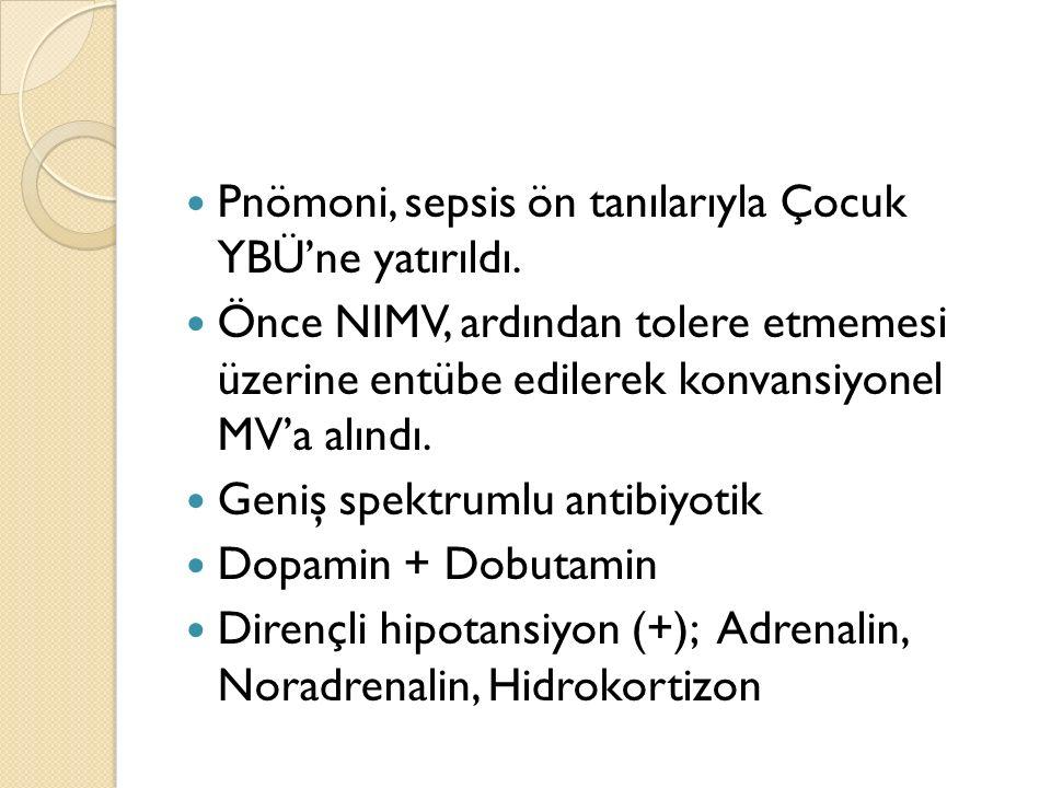 Relatif kontrendikasyonlar: Septik şok Akut progressif miyokardial hasar Ciddi pulmoner hipertansiyon (MAP>45 veya >%75 sistemik) Kardiak arrest >6 gün mekanik ventilasyon