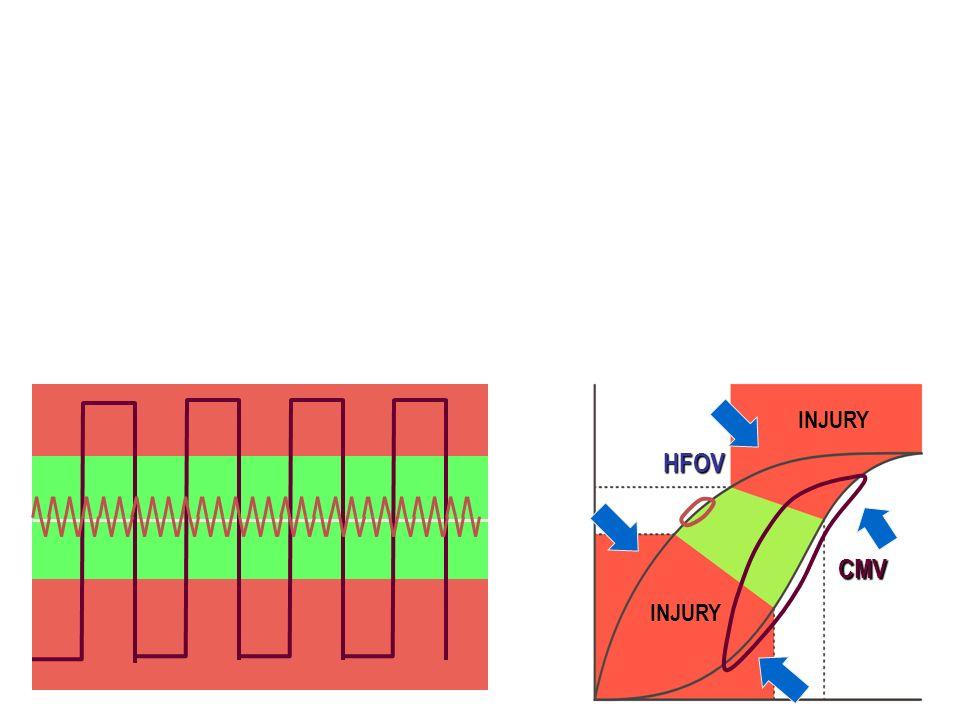 INJURY CMV HFOV