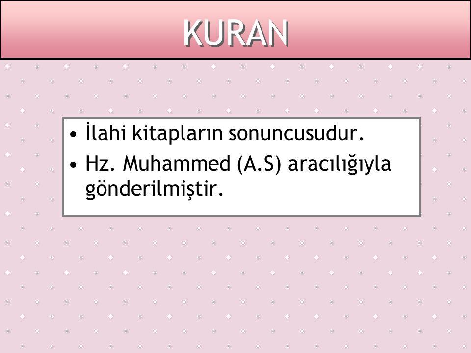 KURANIN İNDİRİLMESİ Kuran Peygamberimize 610 yılında, Ramazan ayının Kadir gecesinde, Peygamberimiz 40 yaşında iken, Hira mağarasında bulunduğu sırada indirilmeye başlanmıştır.