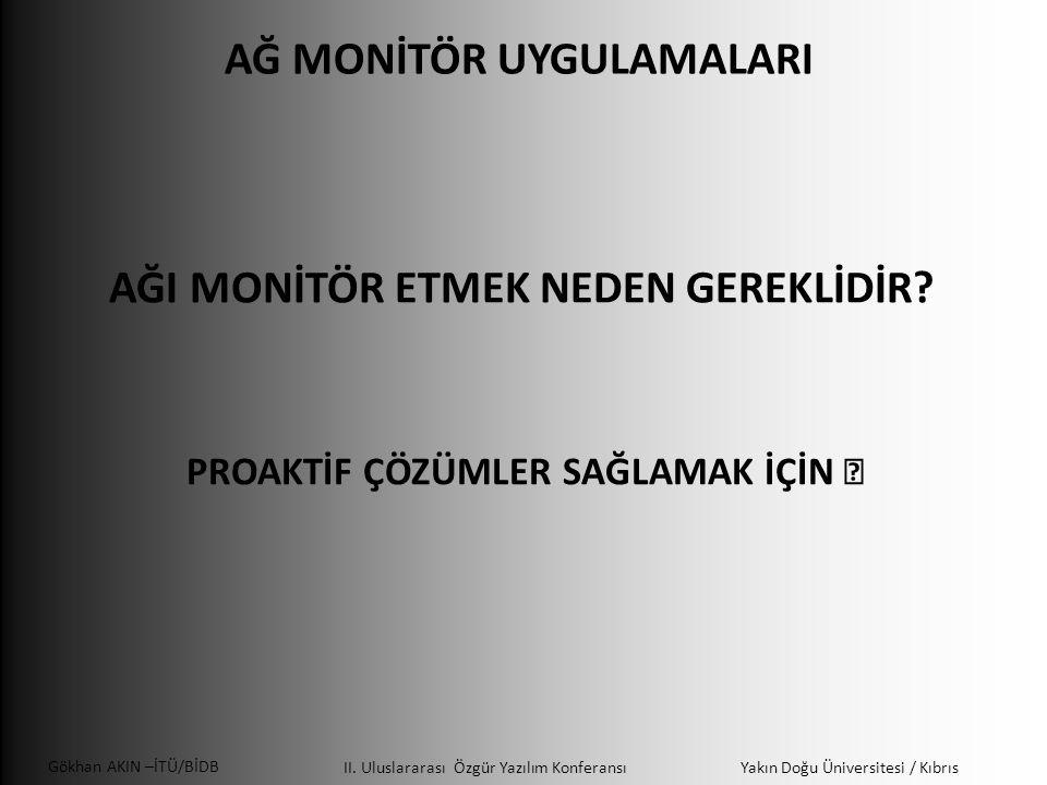 Gökhan AKIN –İTÜ/BİDB II.