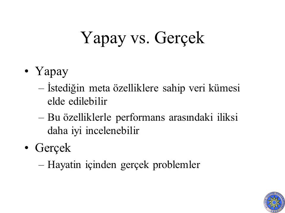 Yapay vs.