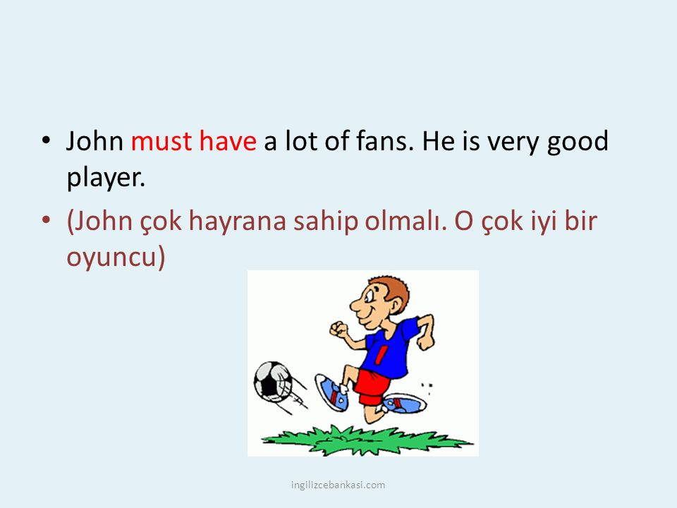 John must have a lot of fans. He is very good player.