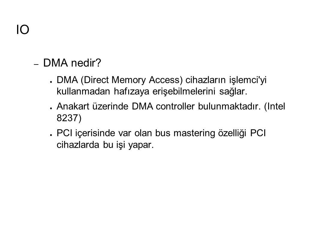 IO – DMA nedir.