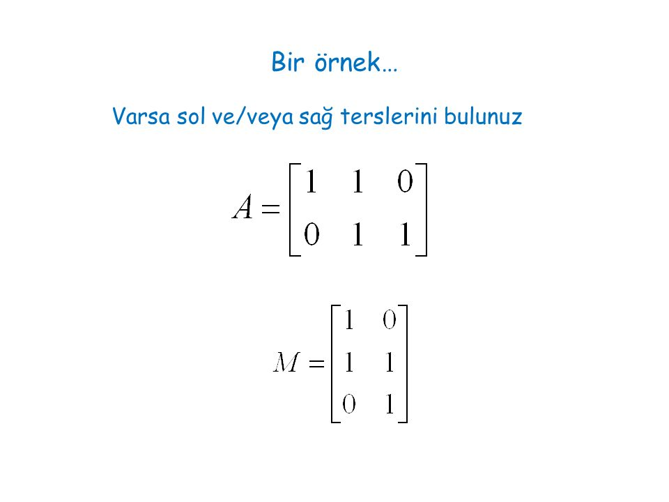 1 2 3 4 5 6 7 8 9 12 3 4 5 6 Sol sıfır uzayının baz vektörlerini grafa bakarak belirlemek mümkün çevreleri tanımlayan vektörler sol sıfır uzayının bazları