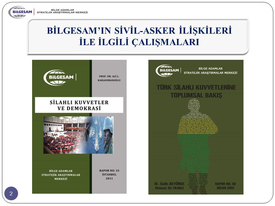 83  Ayrıca bu yetki, tüm askeri faaliyetlerin Hükümet tarafından denetlenebilmesini ve TSK'nın Hükümete hesap verebilirliğini de içerir.
