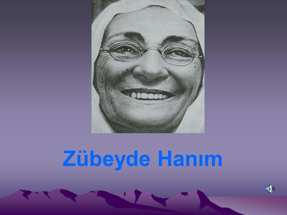 Zübeyde Hanım 1857 yılında Selanik te doğdu.