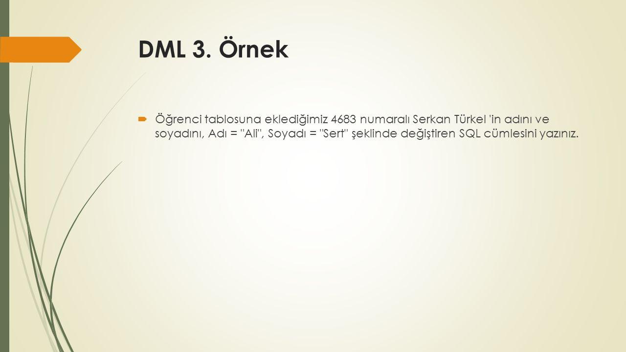 DML 3.