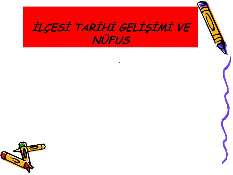 İLÇESİ TARİHİ GELİŞİMİ VE NÜFUS.
