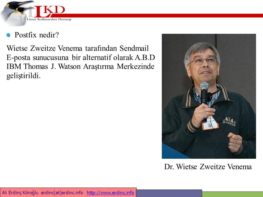 Ali Erdinç Köroğlu erdinc[at]erdinc.info http://www.erdinc.infohttp://www.erdinc.info Sorular ??