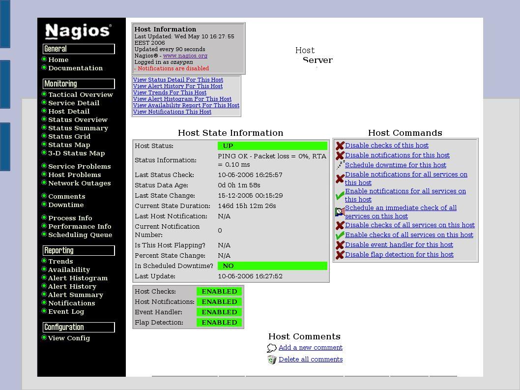 ● Diğer sistem izleme araçları – Munin ● RRDTool ile görüntüleme ● Linux, FreeBSD, Solaris, AIX altında çalışma ● Geriye dönük grafikler verebilme – Monit ● Anlık olarak sunucuların servis bilgilerini verme ● Duran servisleri yeniden başlatabilme