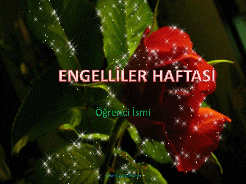 Öğrenci İsmi www.hayalkatibi.com