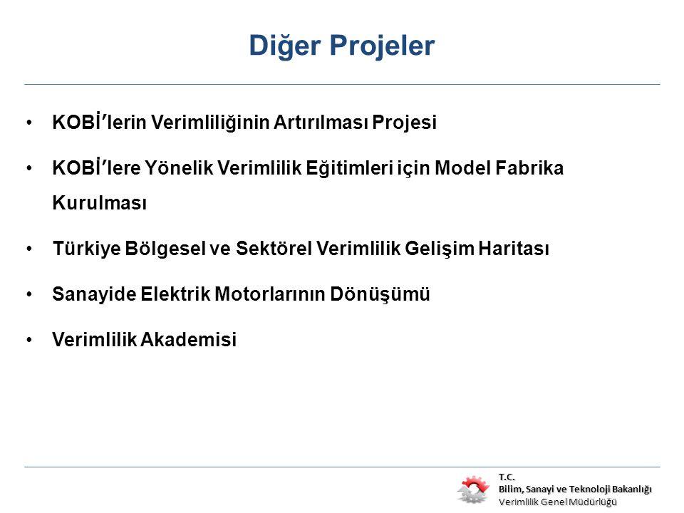 T.C. Bilim, Sanayi ve Teknoloji Bakanlığı Verimlilik Genel Müdürlüğü Diğer Projeler KOBİ'lerin Verimliliğinin Artırılması Projesi KOBİ'lere Yönelik Ve