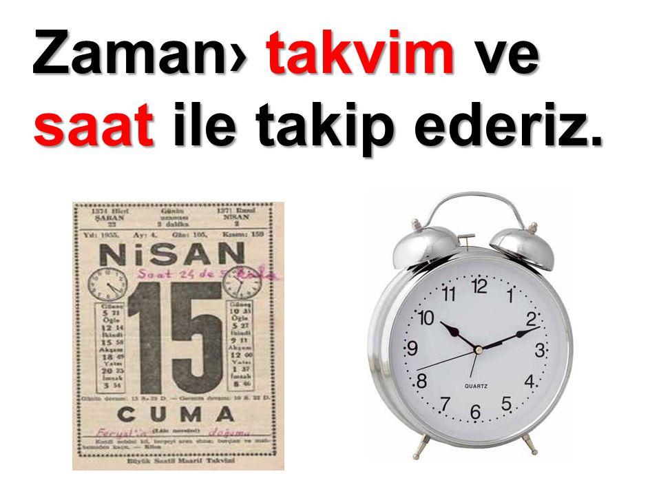 Eski zamanlardan bu yana saatin şeklinde de¤işiklikler olmuştur.