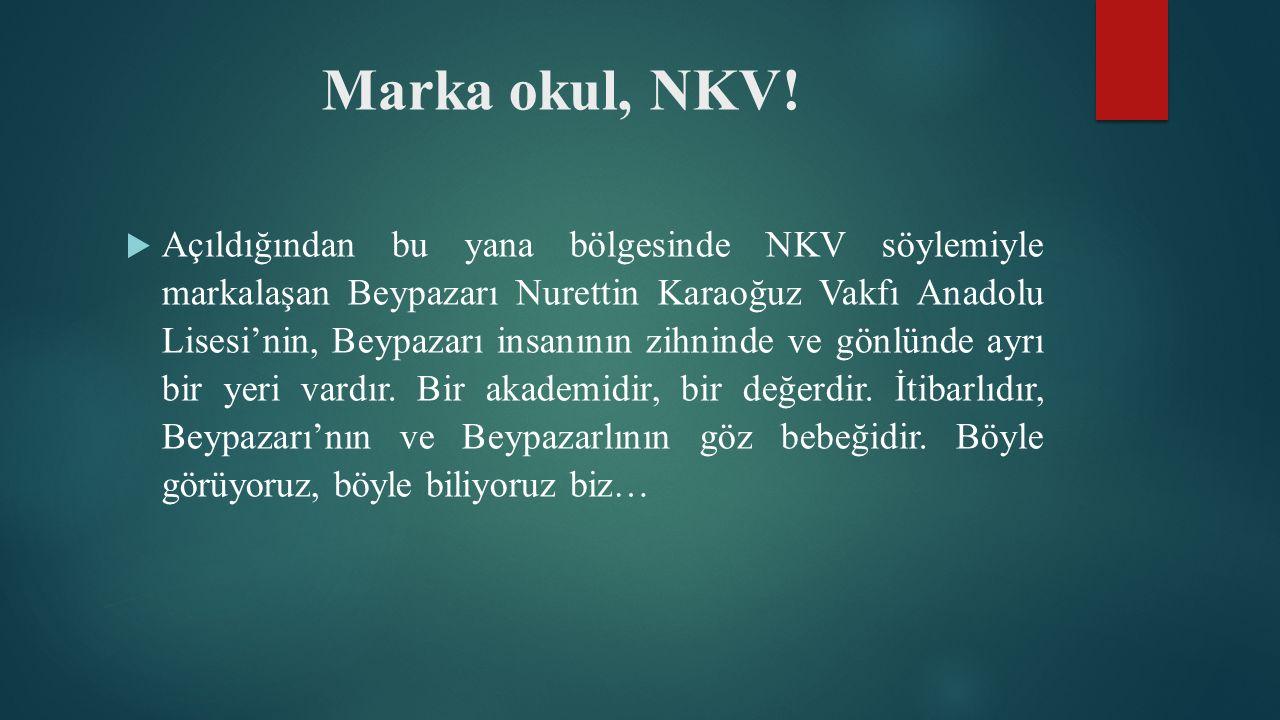 Marka okul, NKV.