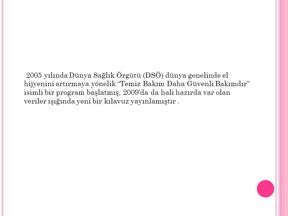Yöntem Çalışma Ortamı Bu çalışma, Türkiye'de 11 şehirde INICC üyesi olan toplam 12 adet akademik hastanenin 12 YBÜ'sünde gerçekleştirilmiş olup, 8 yıllık çalışma süreci içerisinde kurulan işbirliği başarılı şekilde sürdürülebilmiştir.