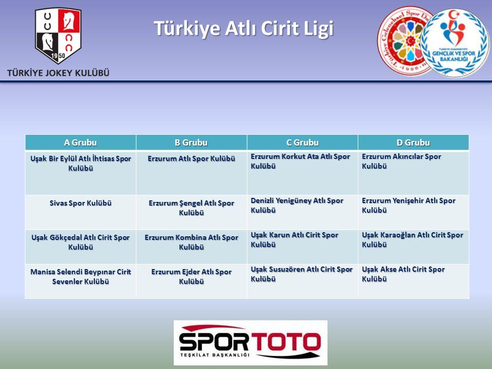 Türkiye Atlı Cirit Ligi A Grubu B Grubu C Grubu D Grubu Uşak Bir Eylül Atlı İhtisas Spor Kulübü Erzurum Atlı Spor Kulübü Erzurum Korkut Ata Atlı Spor